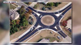 Road crews getting ready to add 2 new roundabouts in Tempe