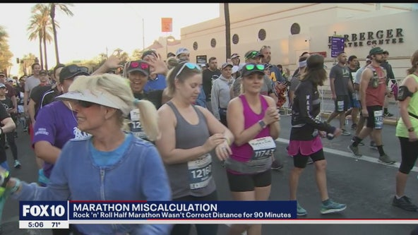 Officials blame map misinterpretation for shorter Rock n Roll Half Marathon