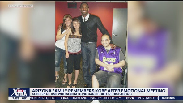 AZ family remembers encounter son had with Kobe Bryant during cancer battle