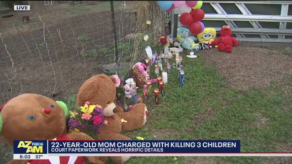 PD: 22-year-old mother accused of killing her 3 children