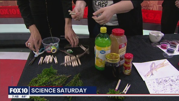 Science Saturday: Painting without a brush