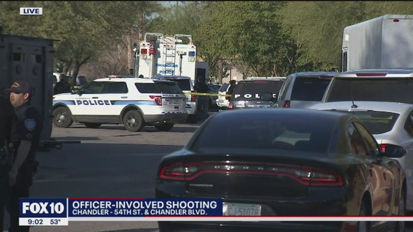 Chandler police investigating officer-involved shooting
