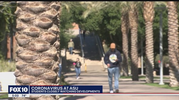 Some ASU students on edge following confirmed case of Coronavirus
