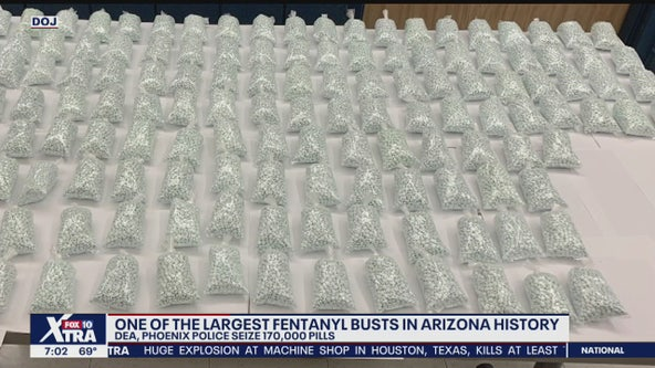 DEA and others seize close to 170,000 fentanyl pills in bust