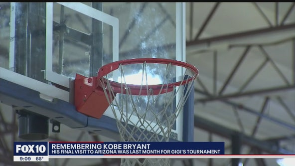 Valley residents remember Kobe Bryant