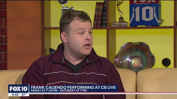 Comedian Frank Caliendo to perform at CB Live