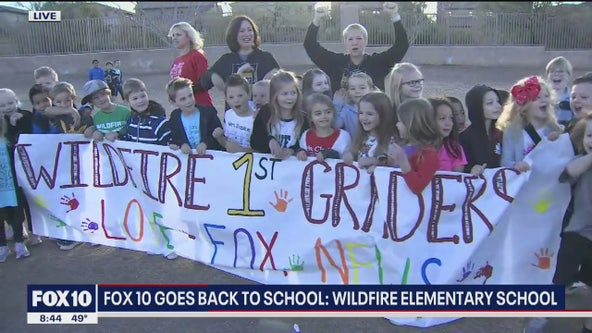 Cory's Corner: Back to school at Wildfire Elementary School