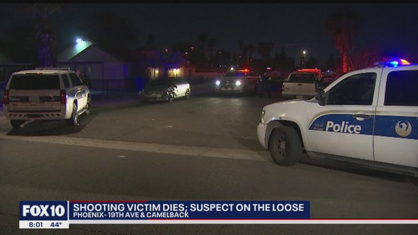 PD: 1 dead, suspect sought after shooting near I-17 and Camelback