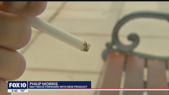 Philip Morris may move forward with new vaping product