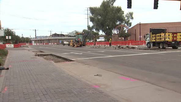 Construction work begins on new Tempe roundabout