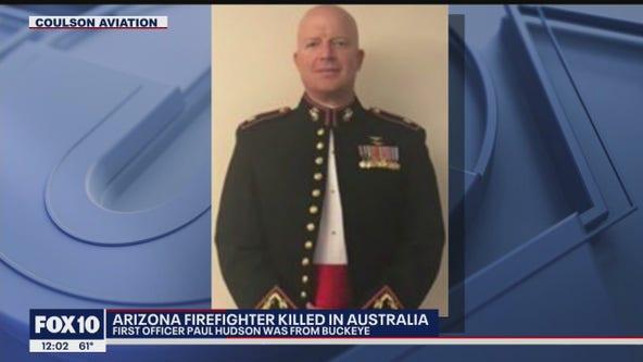 Flags at half-staff for Arizonan killed in Australia crash