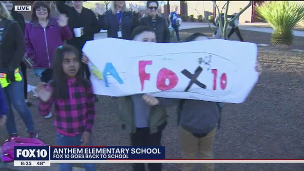 Cory's Corner: Back to school at Anthem Elementary School