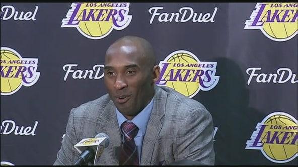 Dallas Mavericks to retire number 24 in honor of Kobe Bryant
