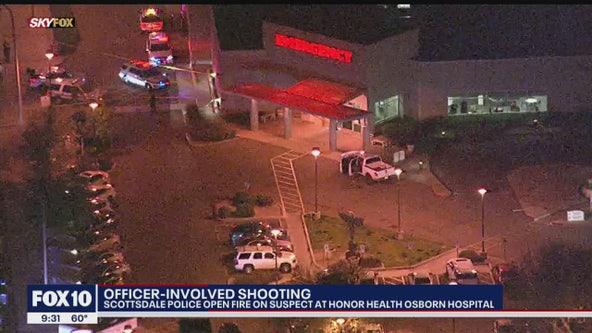 Suspect involved in Scottsdale officer-involved shooting dead