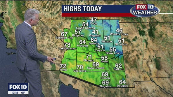 Noon Weather - 1/23/20