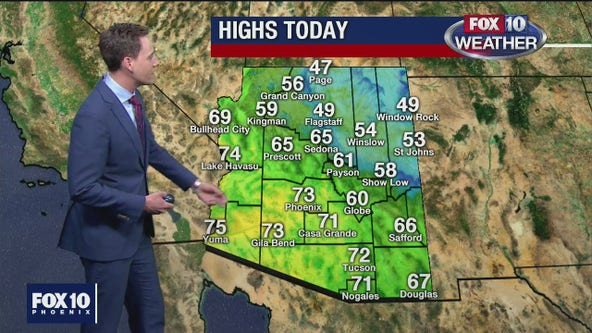 Morning Weather Forecast - 1/25/20