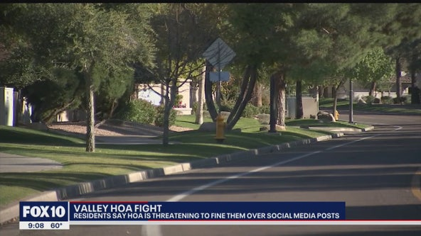Despite HOA threat of fines over negative social media posts, East Valley family vows not to back down