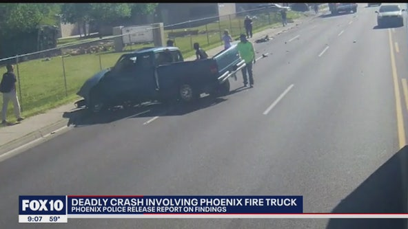 Family sues city for $25 million following deadly 2019 crash involving Phoenix Fire Department truck