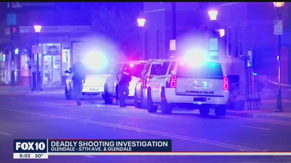 Glendale PD investigating shooting that left man dead
