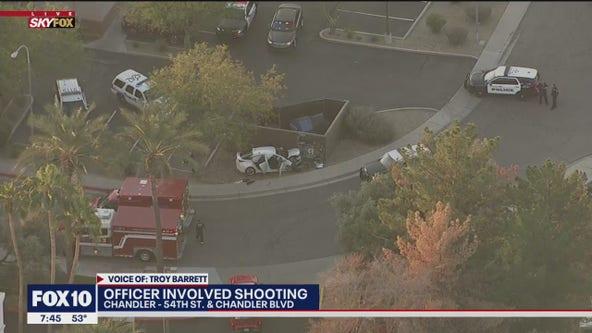 Chandler police investigating officer-involved shooting