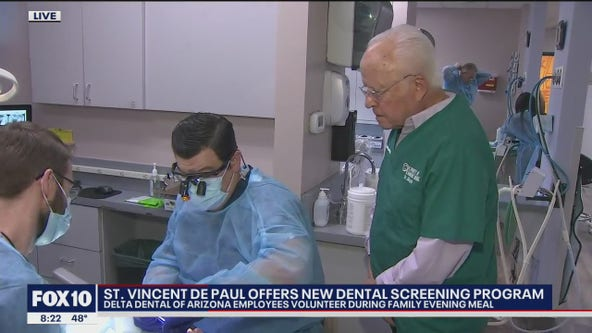 St. Vincent de Paul offers new dental screening program