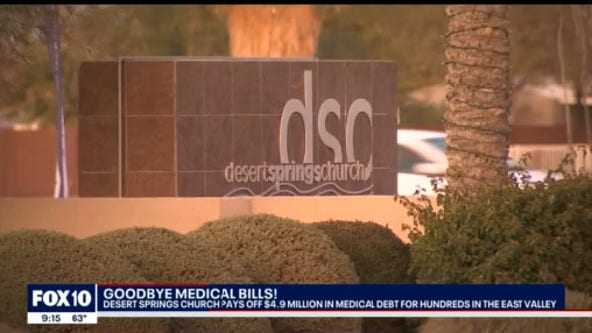 Church pays off more than 800 families medical bills