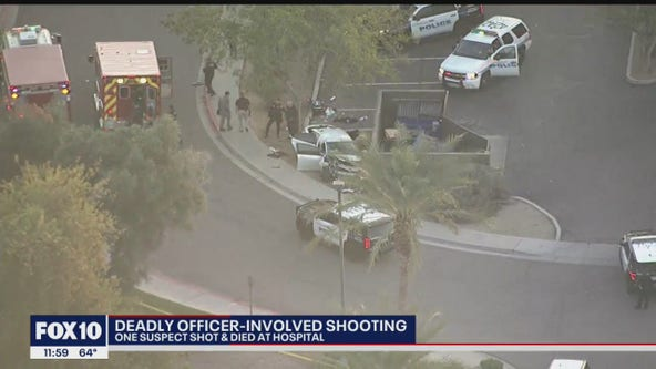 Chandler police investigating deadly officer-involved shooting