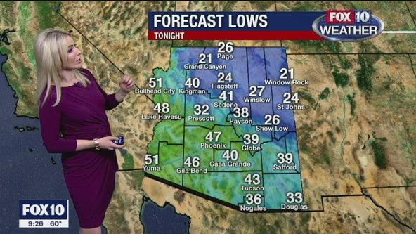 9 p.m. Weather Forecast 1/23/20