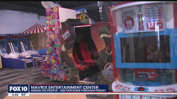 Mavrix entertainment center set to open in Scottsdale next month, 150 jobs available