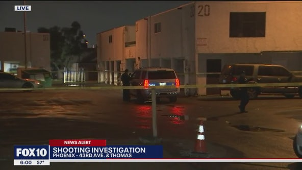 PD: 1 injured in shooting near 43rd Avenue and Thomas