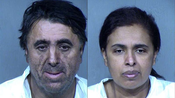 PD: Human remains found inside Phoenix home after fire; parents arrested