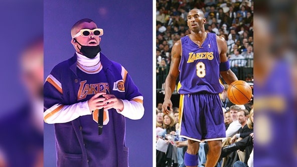 Bad Bunny pays tribute to Kobe Bryant with '6 Rings' song
