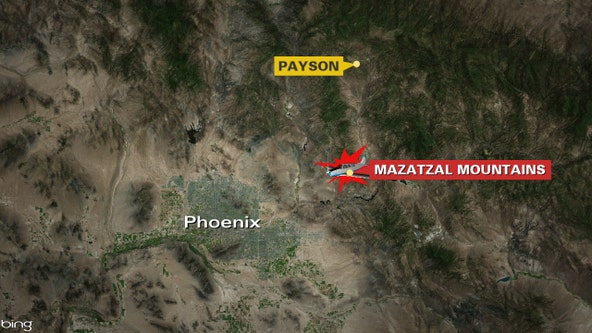 GCSO: Mesa man dead following plane crash southwest of Payson
