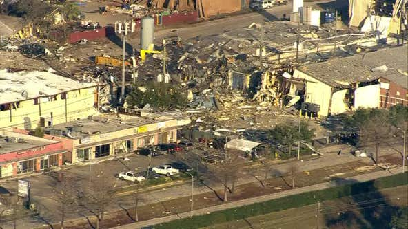 2 confirmed deaths in northwest Houston building explosion