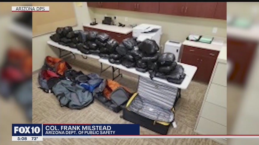 2 arrested in largest meth bust in Arizona DPS history