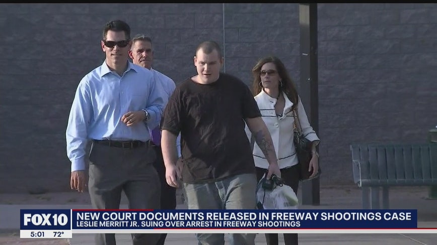 Man once arrested in connection with Freeway Shooter case moves ahead with lawsuit against AZ and DPS