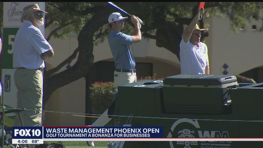 Waste Management Phoenix Open a boon for Valley businesses