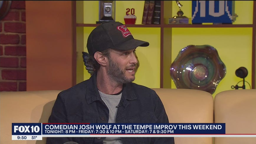 Comedian Josh Wolf to perform at Tempe Improv