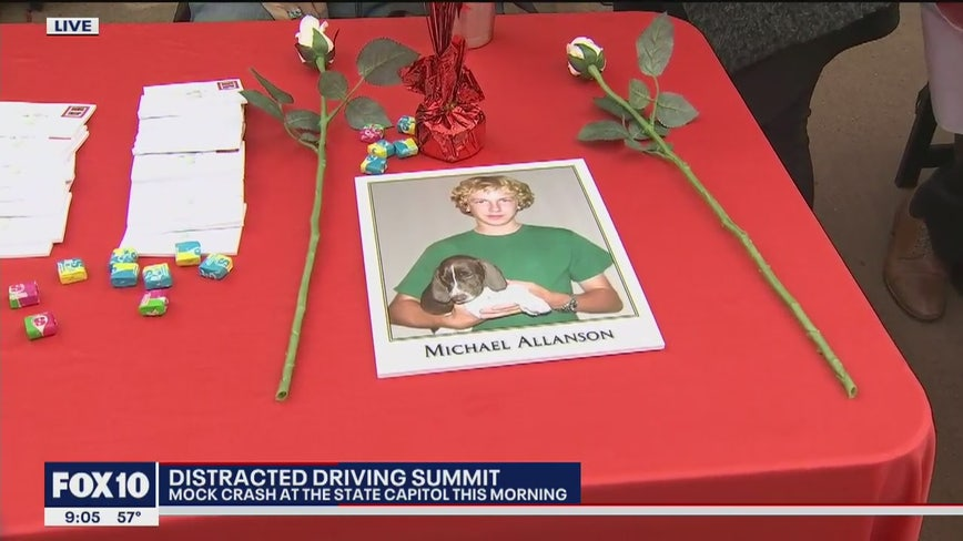 Distracted driving summit at state capitol
