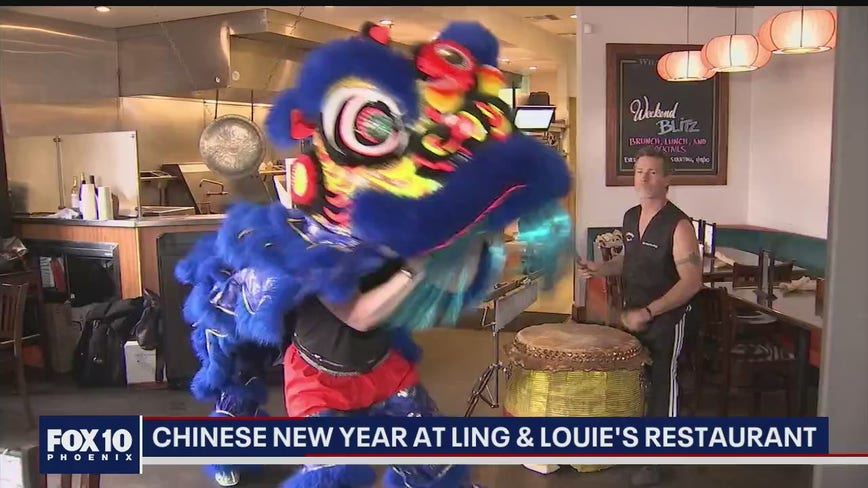 Celebrating Chinese New Year at Ling & Louie's