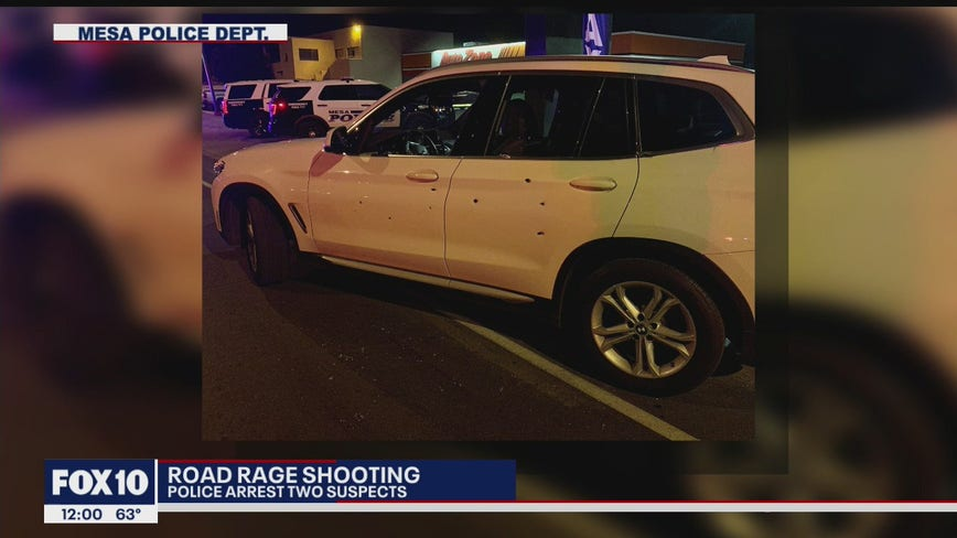 PD: Brothers arrested in connection to Mesa road-rage shooting