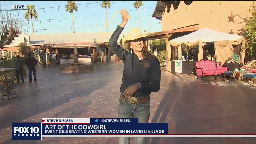 The Art of the Cowgirl at Laveen Village
