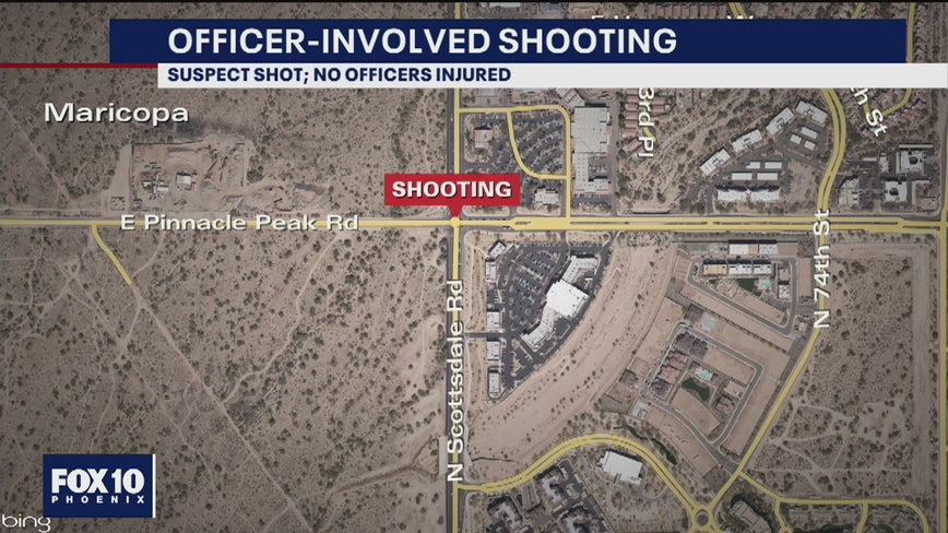 Scottsdale police investigate officer-involved shooting