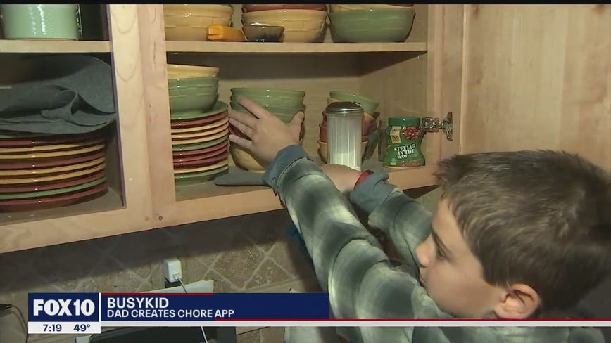 Community Cares: Valley dad creates chore app