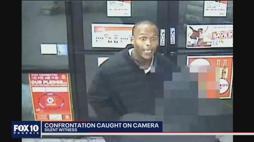 Confrontation caught on camera: Suspect punches victim at Circle K store