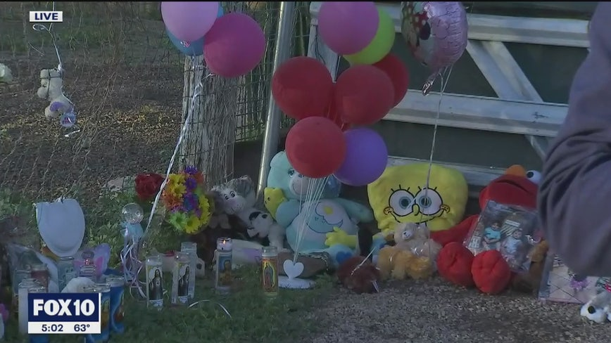Memorial for children allegedly killed by their mother in South Phoenix continues to grow