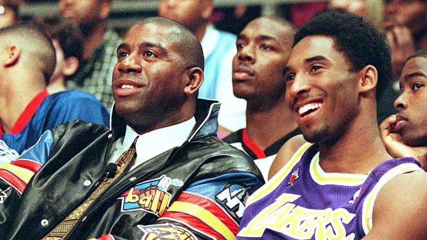 Magic Johnson reacts to Kobe Bryant's death: 'Greatest Laker of all-time is gone'