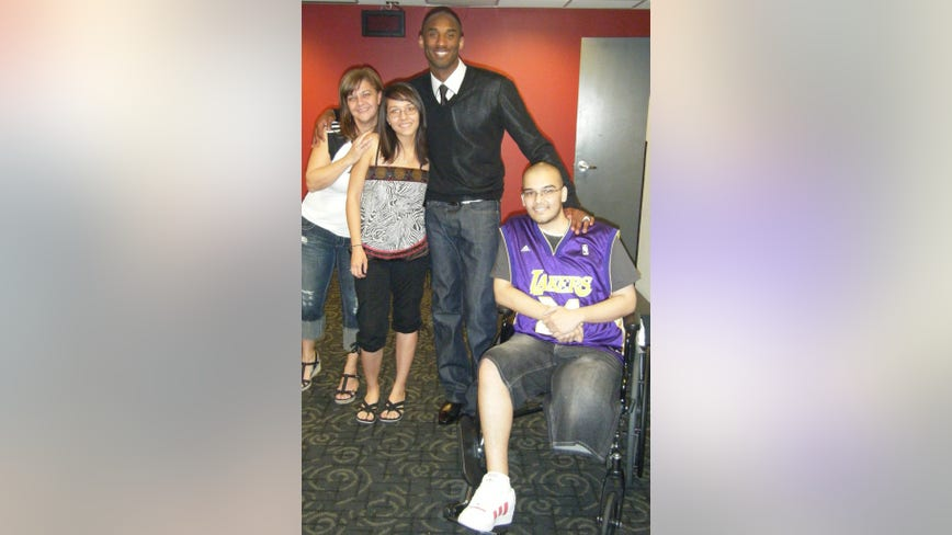 Lake Havasu family remembers impact Kobe Bryant had on their son's life, as he battled cancer