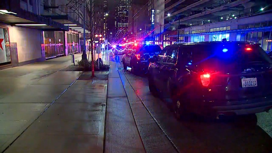 Police: 6 people shot, 1 dead in downtown Seattle