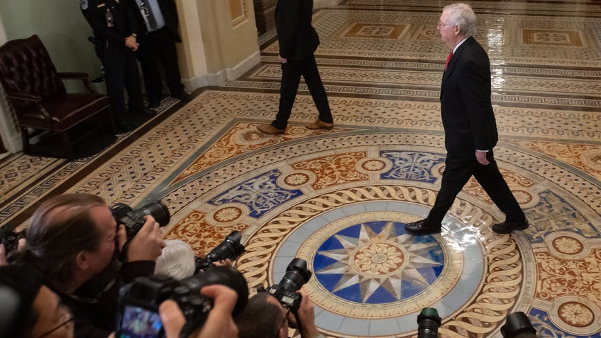 Trump impeachment trial: McConnell abruptly changes proposed rules after objections